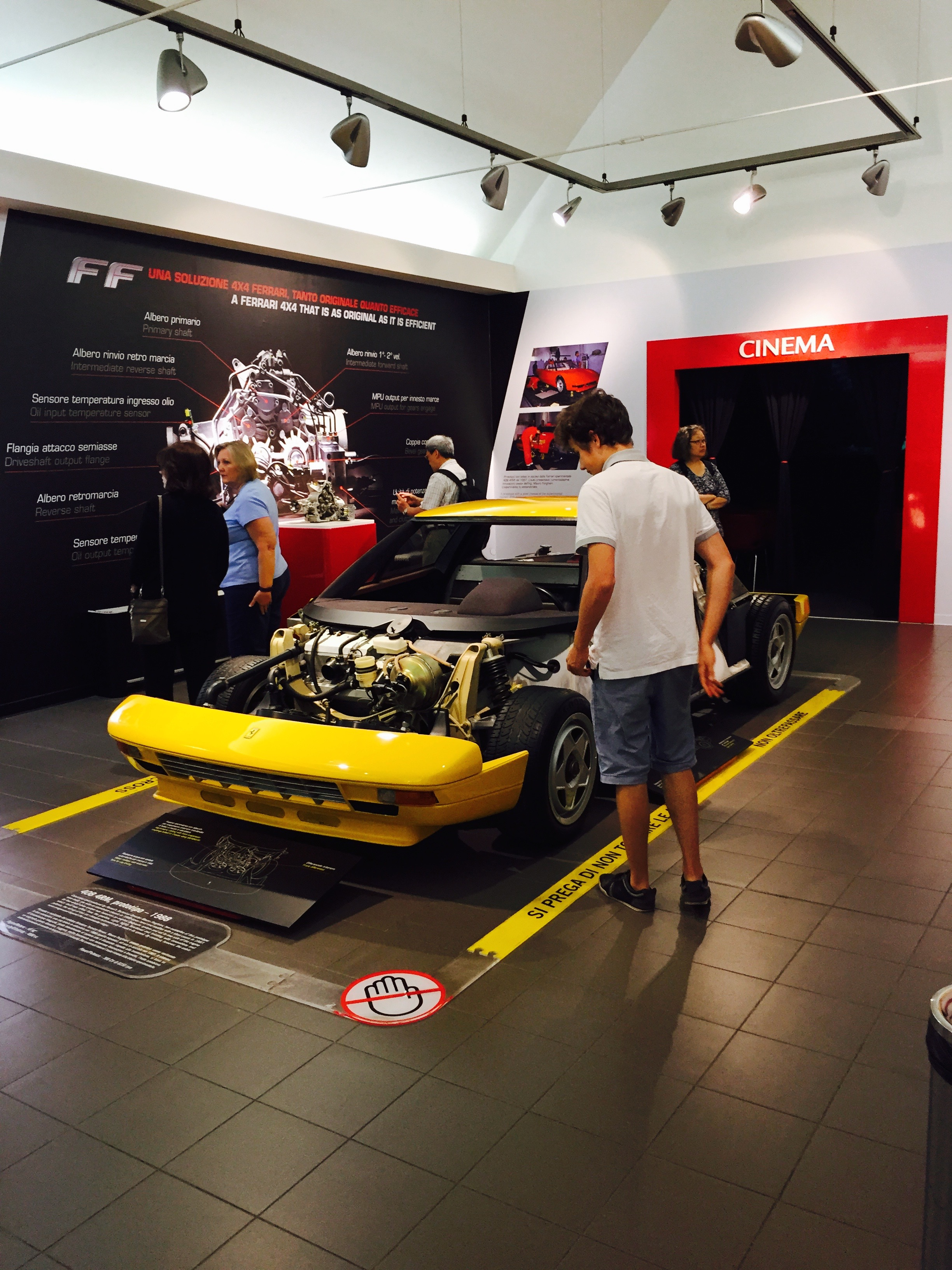 pin pictures cars home ferrari and car bologna gallery tour
